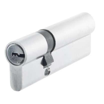 Цилиндр Standers 90 30x60 мм ключ-ключ цвет хром