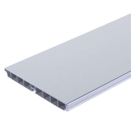 Цоколь 300х15 см ПВХ белый