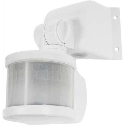 Датчик движения угловой 270 градусов 1100 Вт цвет белый IP44