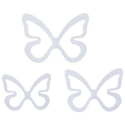 Декор для стен Бабочки цвет белый