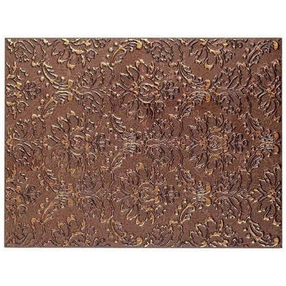 Декор Катар 25х33 см цвет коричневый
