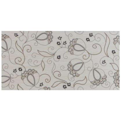 Декор Наоми 19.8x39.8 см цвет белый