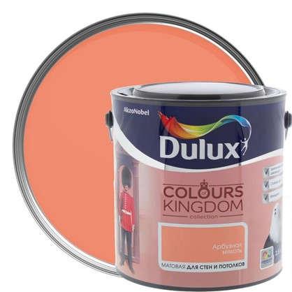 Декоративная краска для стен и потолков Dulux Colours Kingdom цвет арбузная мякоть 2.5 л в