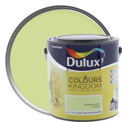 Декоративная краска для стен и потолков Dulux Colours Kingdom цвет бамбуковая роща 2.5 л