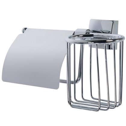 Держатель для туалетной бумаги и освежителя воздуха Sensea Kvadro цвет хром