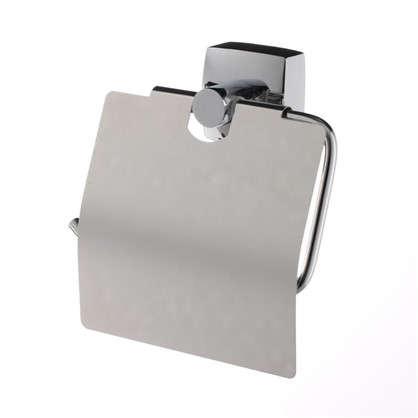 Держатель для туалетной бумаги Sensea Kvadro с крышкой цвет хром