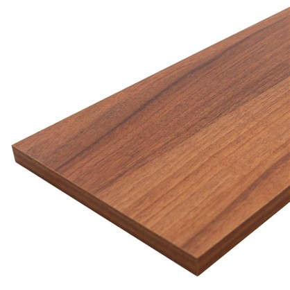 Мебельная деталь ЛДСП 1200x300x16 мм цвет орех антик