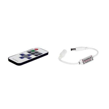 Диммер для монохромной светодиодной ленты 04-10 12 В 72 Вт кнопочный пульт