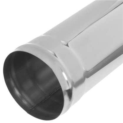 Дымоход 0.5 м 430/0.8 мм D120 мм