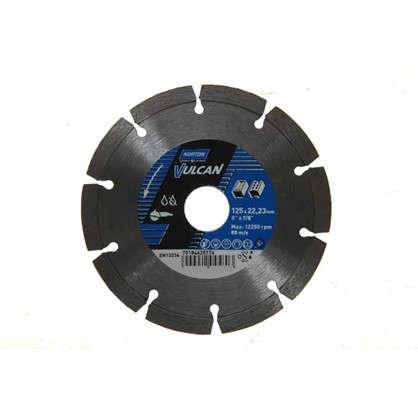 Диск алмазный Norton Universal с сегментированной кромкой 125x22.2 мм