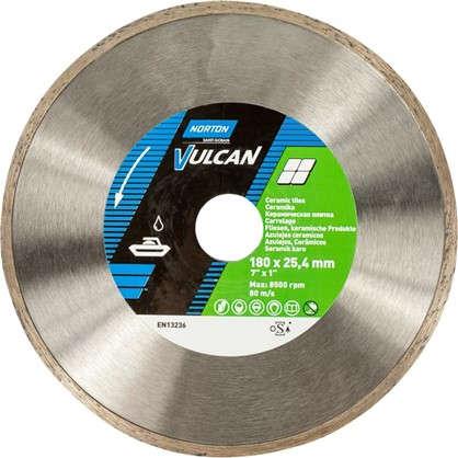 Диск алмазный Norton Vulcan Tile 180х25.4 мм