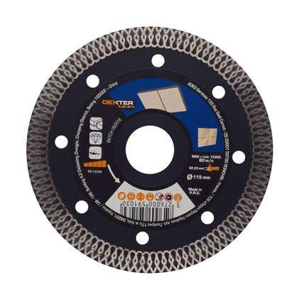 Диск алмазный по керамограниту Dexter Pro 115x22.2 мм