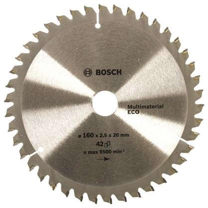Диск циркулярный по дереву Bosch MultiECO 160x20/16 мм