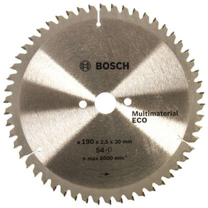 Диск циркулярный по дереву Bosch MultiECO 190x20/16 мм