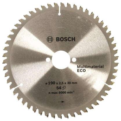 Диск циркулярный по дереву Bosch MultiECO 190x30 мм