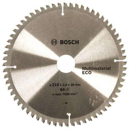 Диск циркулярный по дереву Bosch MultiECO 210x30 мм