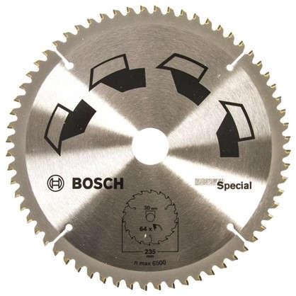 Диск циркулярный по дереву Bosch Special 235x30 мм