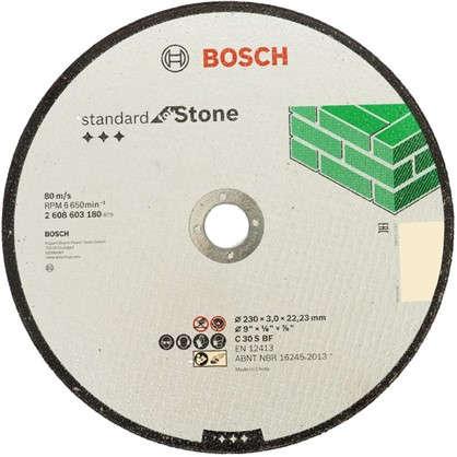 Диск отрезной по камню Bosch 230x3 мм