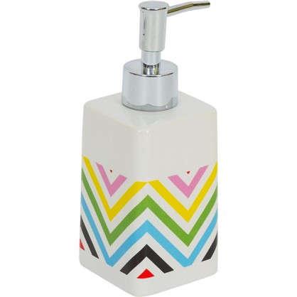Диспенсер для жидкого мыла Twist керамика цвет мультиколор