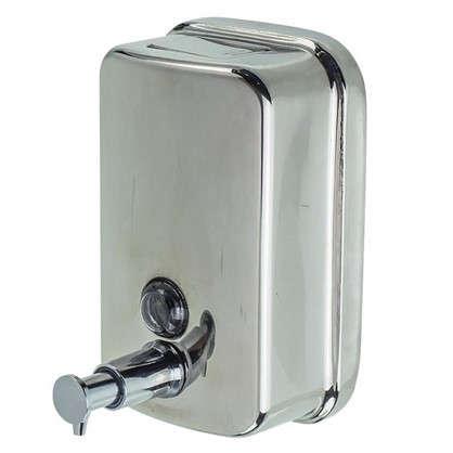 Диспенсер подвесной для жидкого мыла Bath Plus металлический  500 мл цвет хром