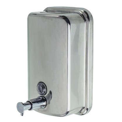 Диспенсер подвесной для жидкого мыла Bath Plus металлический 800 мл цвет хром