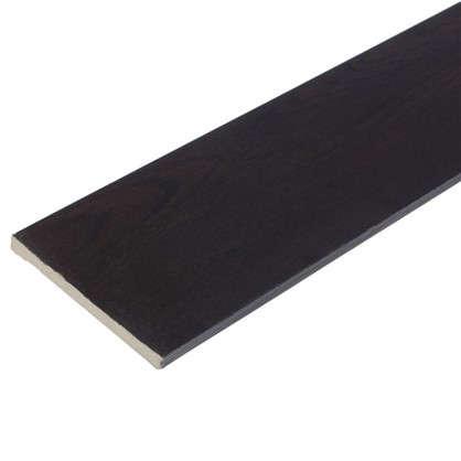 Добор 100 мм CPL цвет дуб шоколадный