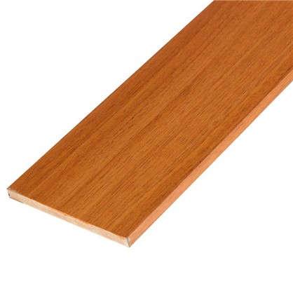 Добор дверной коробки ламинированный 2070x100x8 мм цвет миланский орех