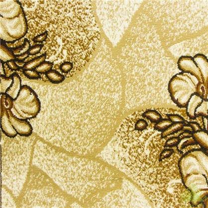 Ковровая дорожка Лайла де Люкс 50005 22 полипропилен 1.5 м цвет бежевый