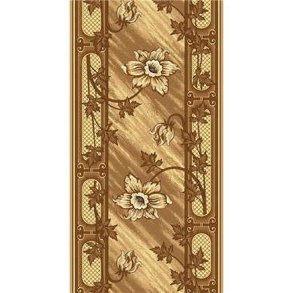 Ковровая дорожка Лиана 170 войлок 0.8 м цвет коричневый