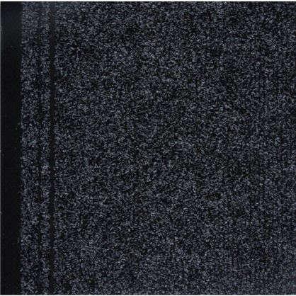 Ковровая дорожка Noventis Biron 2082 иглопробивная 1 м цвет чёрный