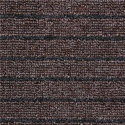 Дорожка Штутгарт  09 м полипропилен цвет коричневый