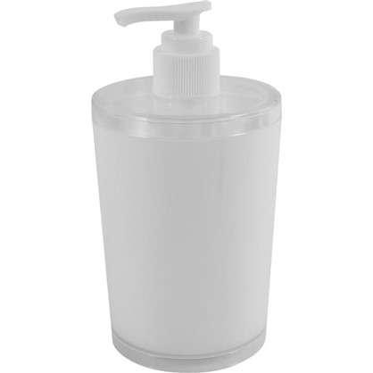 Дозатор для жидкого мыла настольный Беросси Joli пластик цвет белый