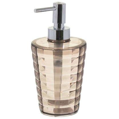 Дозатор для жидкого мыла настольный цвет мокко
