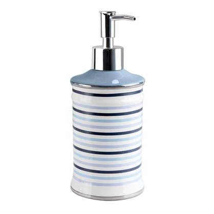 Дозатор для жидкого мыла настольный Морская керамика
