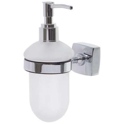 Дозатор для жидкого мыла настольный Sensea Kvadro цвет хром