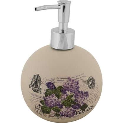 Дозатор для жидкого мыла настольный Vidage Violetta керамика цвет белый