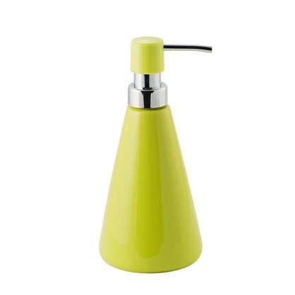 Дозатор для жидкого мыла Veta керамика цвет лайм