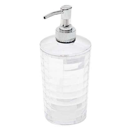 Дозатор настольный для жидкого мыла Vidage Корбу цвет прозрачный