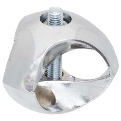 Дрежатель-краб для трех труб d25 мм цвет хром