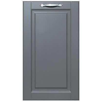 Дверь для кухонного шкафа Леда серая 40х70 см