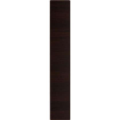 Дверь для кухонного шкафа Византия 15х70 см цвет темно-коричневый