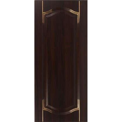 Дверь для кухонного шкафа Византия 40х92 см цвет темно-коричневый