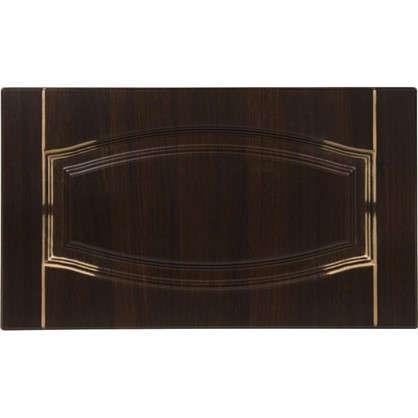 Дверь для кухонного шкафа Византия 60х35 см цвет темно-коричневый