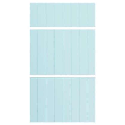 Дверь для шкафа Delinia Фенс 3 ящика 40 см МДФ цвет мята