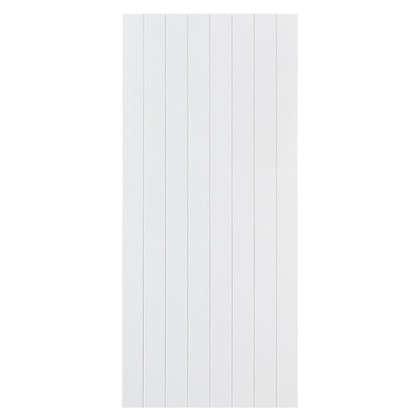 Дверь для шкафа Delinia Фенс 40х92 см МДФ цвет белый