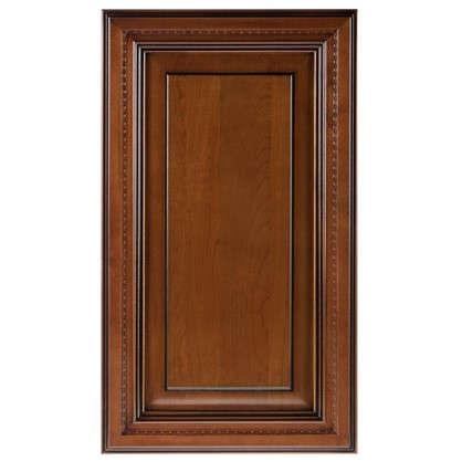 Дверь для шкафа Прованс 40х70 см массив дерева цвет коричневый