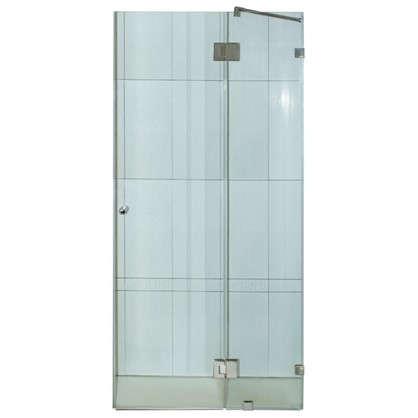 Дверь душевая распашная Классика 120 см