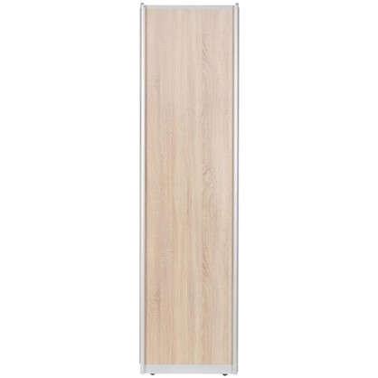 Дверь-купе 2255х604 мм цвет дуб сонома/серебро