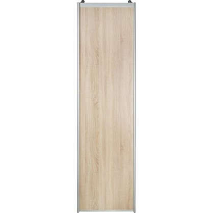 Дверь-купе 2555х704 см цвет дуб сонома/серебро