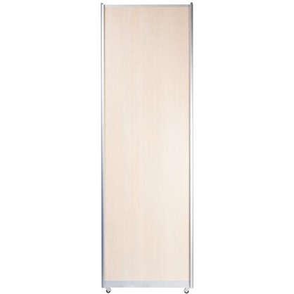 Дверь-купе Spaceo 2455х604 мм цвет дуб беленый